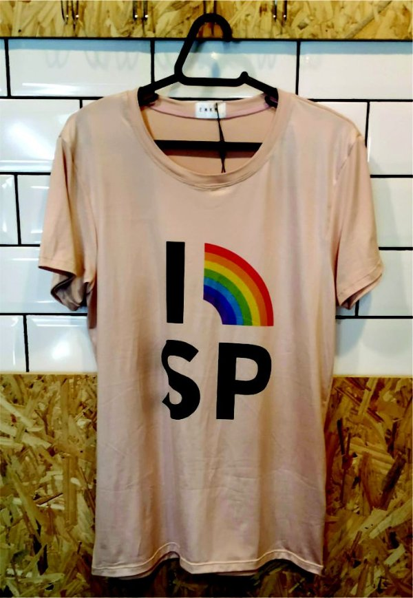 Camiseta Rainbow SP