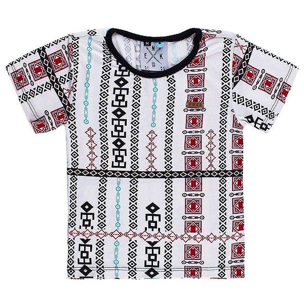 Camiseta Viscose Estampada Drakkars Infantil