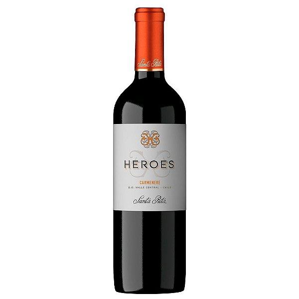 Vinho Chileno Heroes Carmenere 750ml
