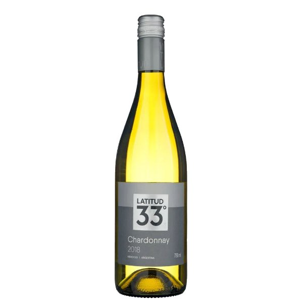 Vinho Argentino Latitud 33º Charconnay 750ml