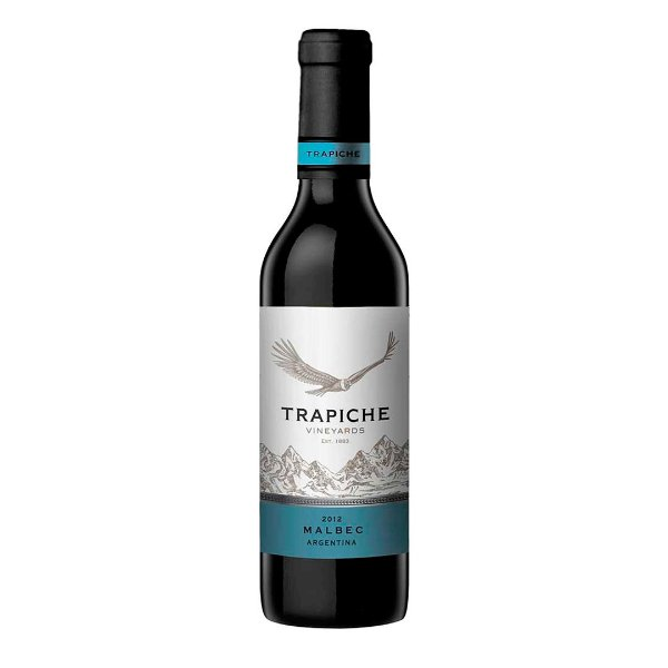 Vinho Argentino Trapiche Vineayards Malbec 375ml (Meia Garrafa)