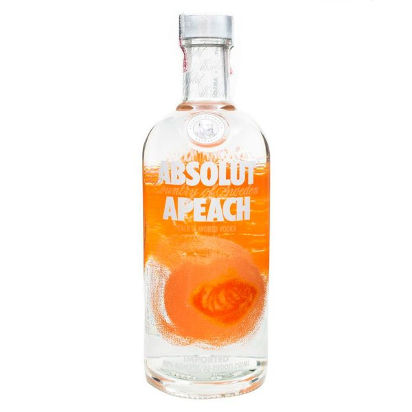 Vodka Absolut Apeach Sueca - 750ml