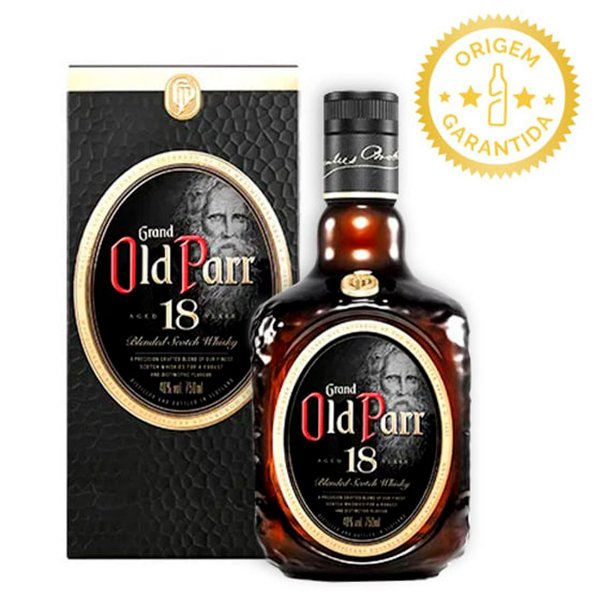 Whisky Grand Old Parr 18 Anos 750ml ****