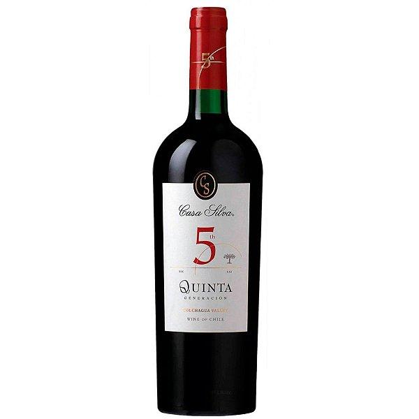 Vinho Chileno Casa Silva Reserva Quinta Generacion Tinto 750ml