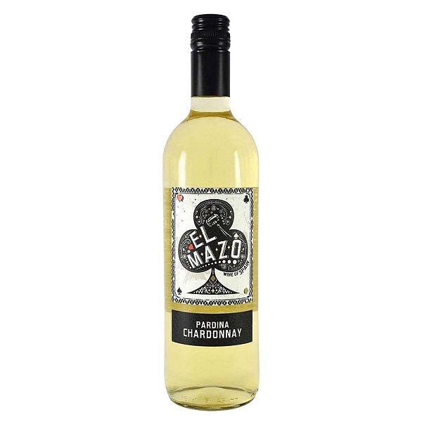 Vinho Espanhol El Mazo Pardina Chardonnay 750ml