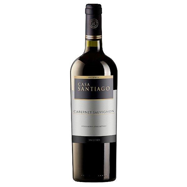 Vinho Chileno Casa Santiago Reserva Cabernet Sauvignon 750ml
