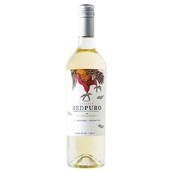 Vinho Argentino Vinecol Red Puro Chardonnay 750ml