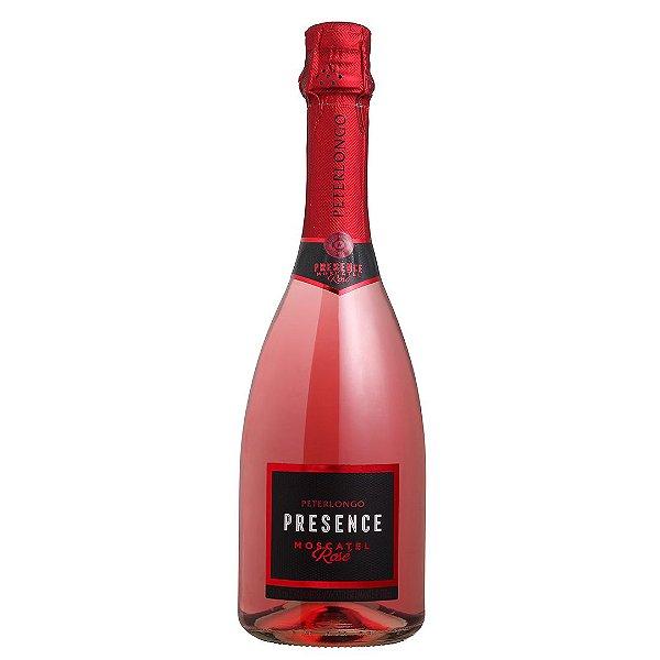 Espumante Bra Peterlongo Presence Moscatel Rosé 750ml