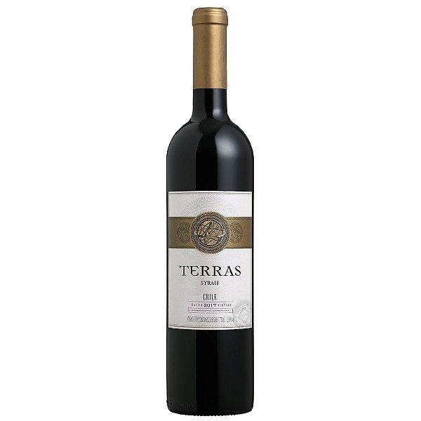 Vinho Chileno Peterlongo Terras Syrah 750ml