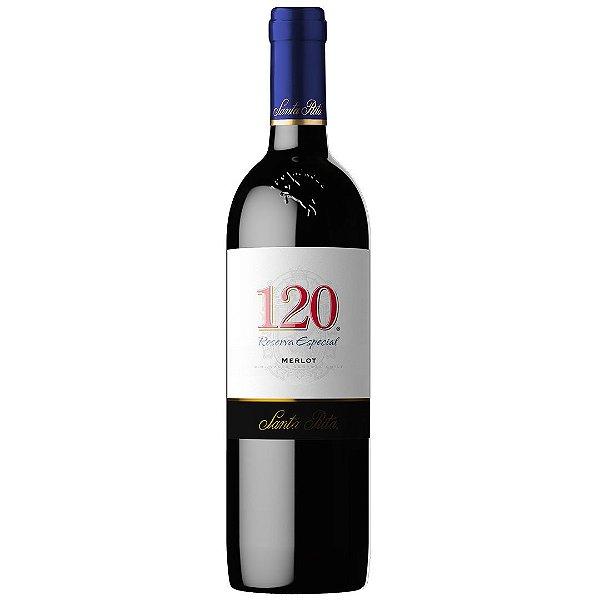 Vinho Chileno Reserva Especial 120 Merlot 750ml