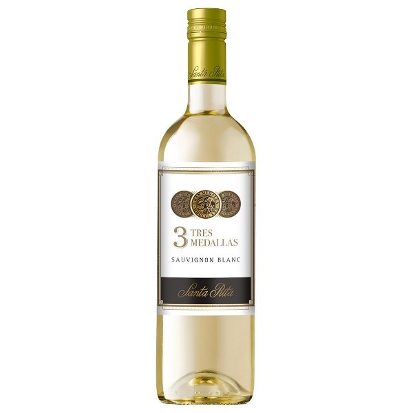 Vinho Chileno Tres Medallas Sauvignon Blanc 750ml