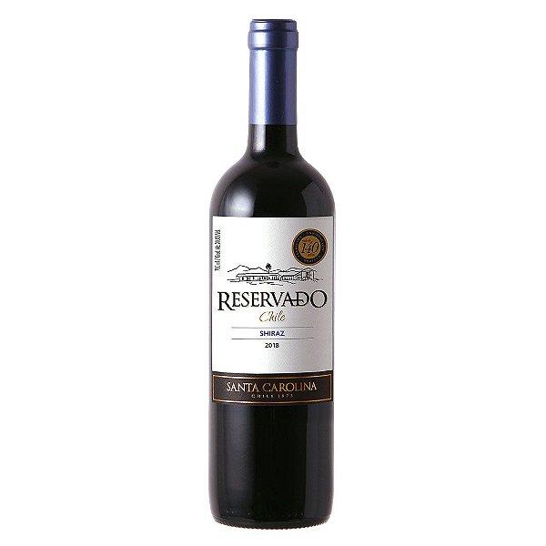 Vinho Chileno Santa Carolina Reservado Syrah 750ml