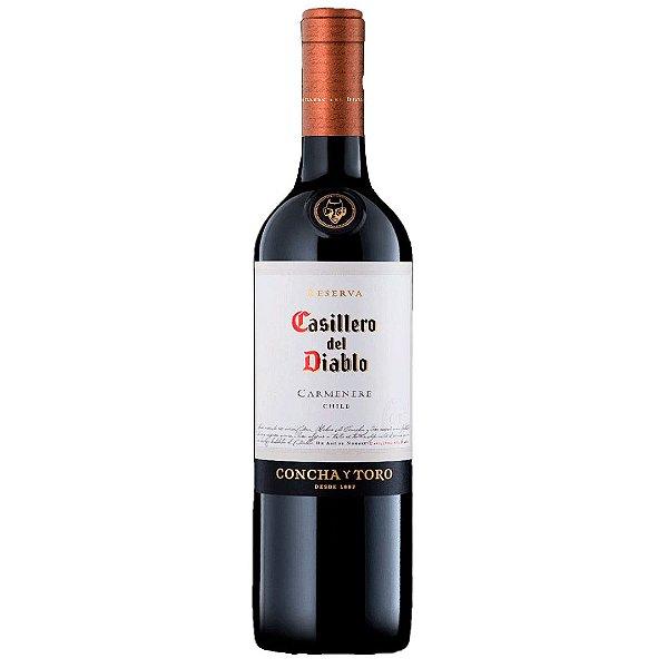 Vinho Chileno Casillero del Diablo Carmenere 750ml
