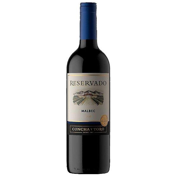 Vinho Chileno Concha Y Toro Reservado Malbec 750ml