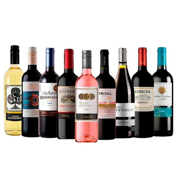Kit 9 Vinhos