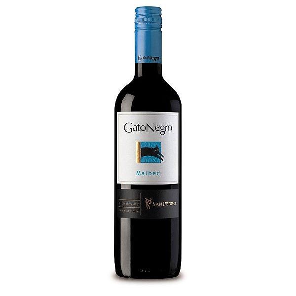 Vinho Chileno Gato Negro Malbec 750ml