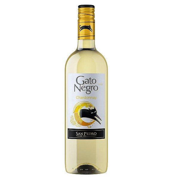 Vinho Chileno Gato Negro Chardonnay 750ml