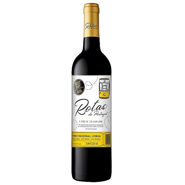 Vinho Português Rotas Região Lisboa Tinto D.O.C 750ml