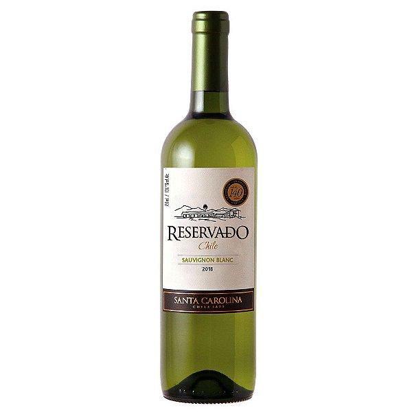 Vinho Chileno Santa Carolina Reservado Sauvignon Blanc 750ml