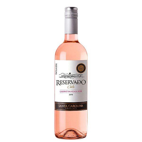 Vinho Chileno Santa Carolina Reservado Rosé 750ml