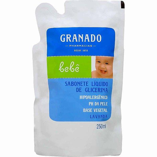 GRANADO REFIL SABONETE LIQUIDO BEBÊ LAVANDA 250mL