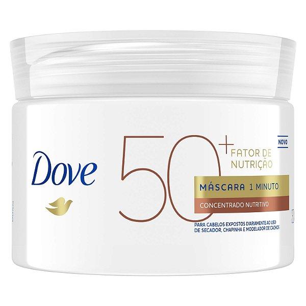 DOVE MASCARA 1 MIN FATOR DE NUTRIÇÃO 50+ 300g