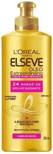ELSEVE CREME PARA PENTEAR OLEO EXTR. BRILHO RADIANTE 250mL