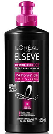 ELSEVE CREME PARA PENTEAR ARGININA RESIST X3 ANTIQUEBRA 250mL