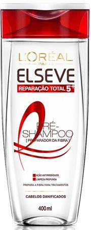 ELSEVE PRÉ-SHAMPOO PREPARADOR DA FIBRA REPAR. TOTAL 5 400mL