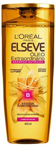 ELSEVE SHAMPOO NUTRIÇÃO OLEO EXTR. 400mL