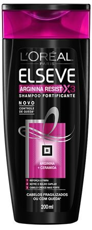 ELSEVE SHAMPOO ARGININA RESIST X3 CERAMIDA 200ML