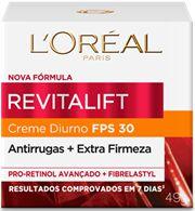 LOREAL REVITALIFT CREME DIURNO FATOR 30 49g