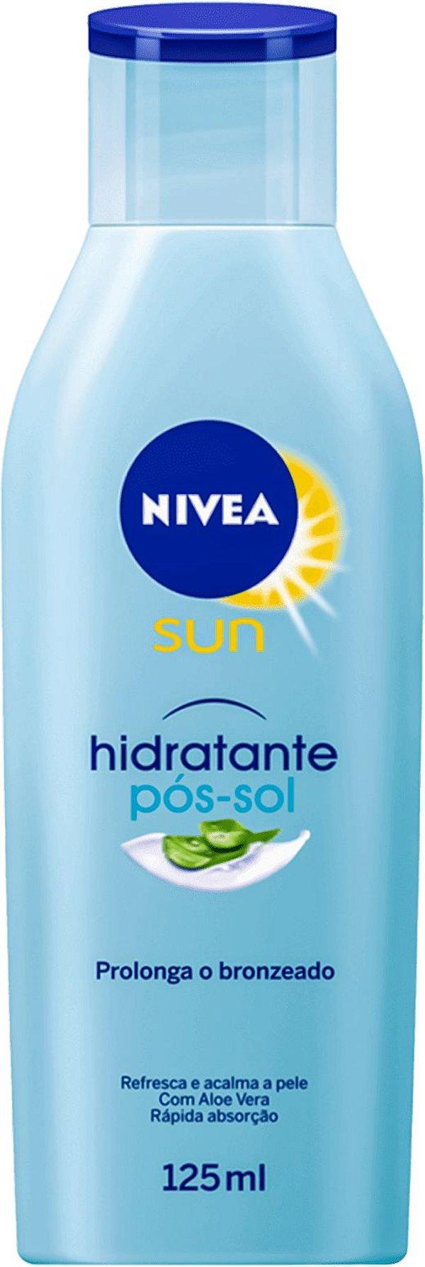 NIVEA SUN HIDRATANTE PÓS-SOL ALOE VERA 125mL