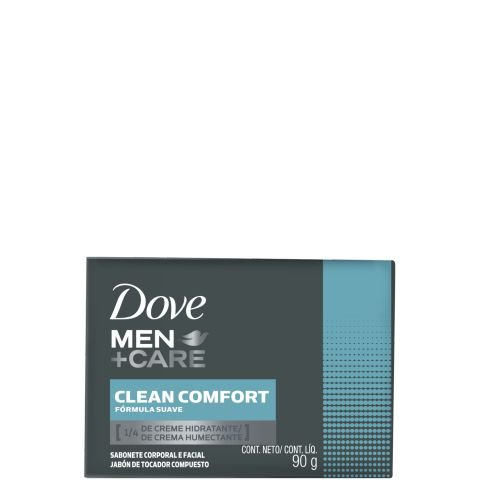 DOVE MEN+CARE SABONETE EM BARRA CLEAN COMFORT 90g