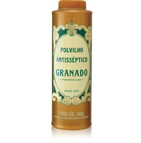GRANADO POLVILHO ANTISSÉPTICO ORIGINAL 100g