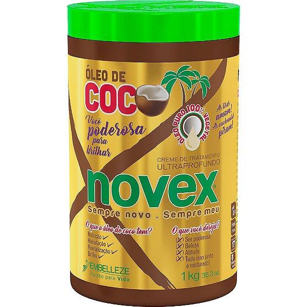 NOVEX CREME DE TRATAMENTO ÓLEO DE COCO 1Kg