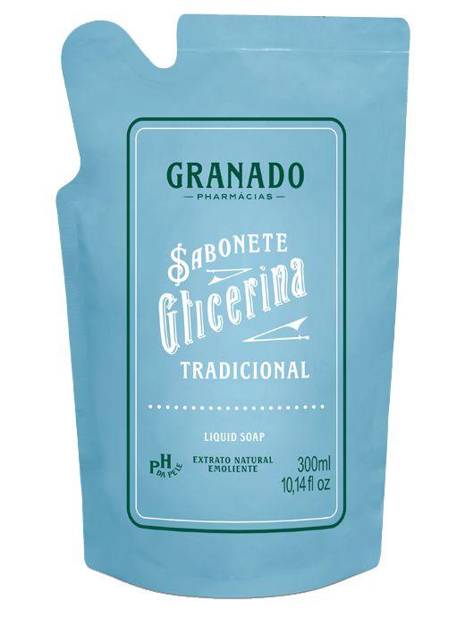 GRANADO REFIL SABONETE LIQUIDO GLICERINA TRADICIONAL 300mL