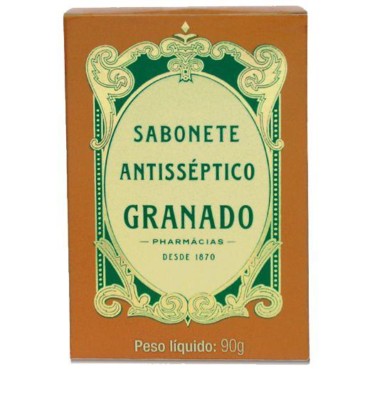 GRANADO SABONETE EM BARRA ANTISSÉPTICO 90g