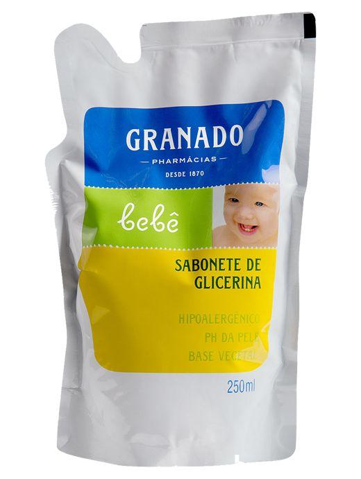 GRANADO REFIL SABONETE LIQUIDO BEBÊ GLICERINA  250mL