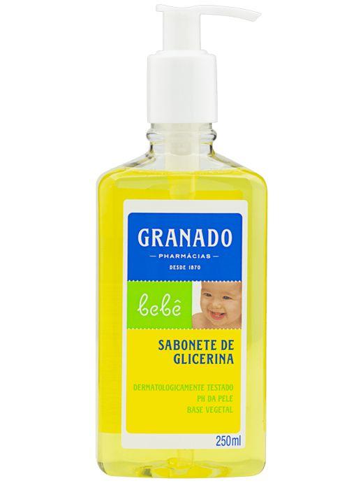 GRANADO BEBÊ SABONETE DE GLICERINA LÍQUIDO TRADICIONAL 250mL