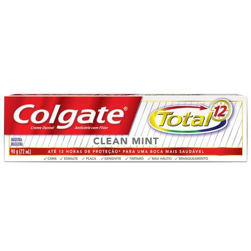 COLGATE CREME DENTAL TOTAL 12 CLEAN MINT 90g