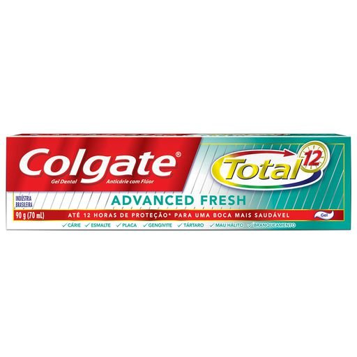 COLGATE CREME DENTAL TOTAL 12 ADVANCED FRESH 90g