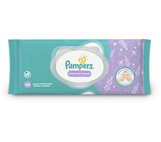 PAMPERS LENÇOS UMEDECIDOS AROMA DE LAVANDA 48un