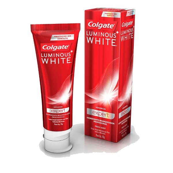 COLGATE CREME DENTAL LUMINOUS WHITE ADVANCED EXPERT 70g