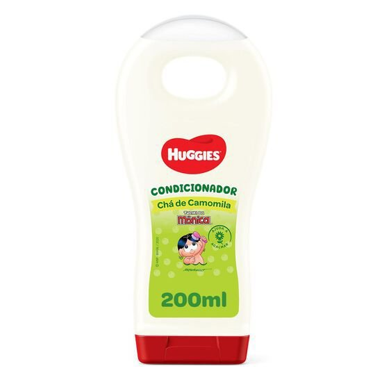 HUGGIES CONDICIONADOR CHÁ DE CAMOMILA TURMA DA MÔNICA 200mL