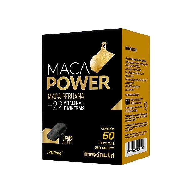 MAXINUTRI MACA POWER 1200mg 60 CÁPSULAS