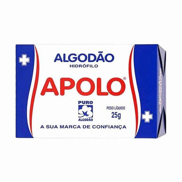 APOLO ALGODÃO HIDRÓFILO 25g