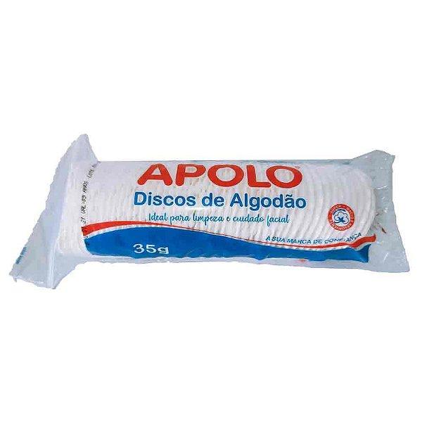 APOLO DISCOS DE ALGODÃO HIDRÓFILO 35g