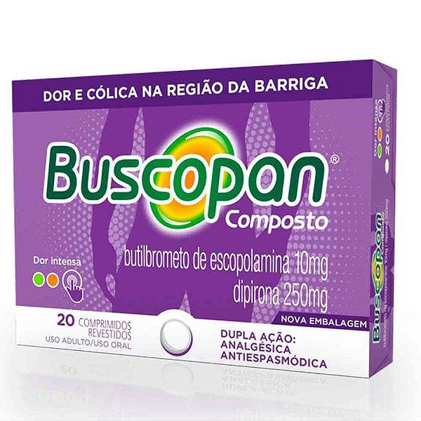 BUSCOPAN COMPOSTO COM 20 COMPRIMIDOS