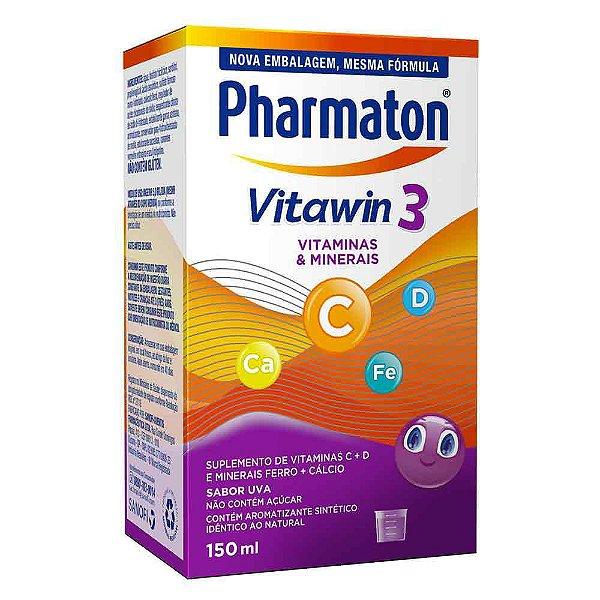PHARMATON VITAWIN 3 KIDS SABOR UVA 150mL